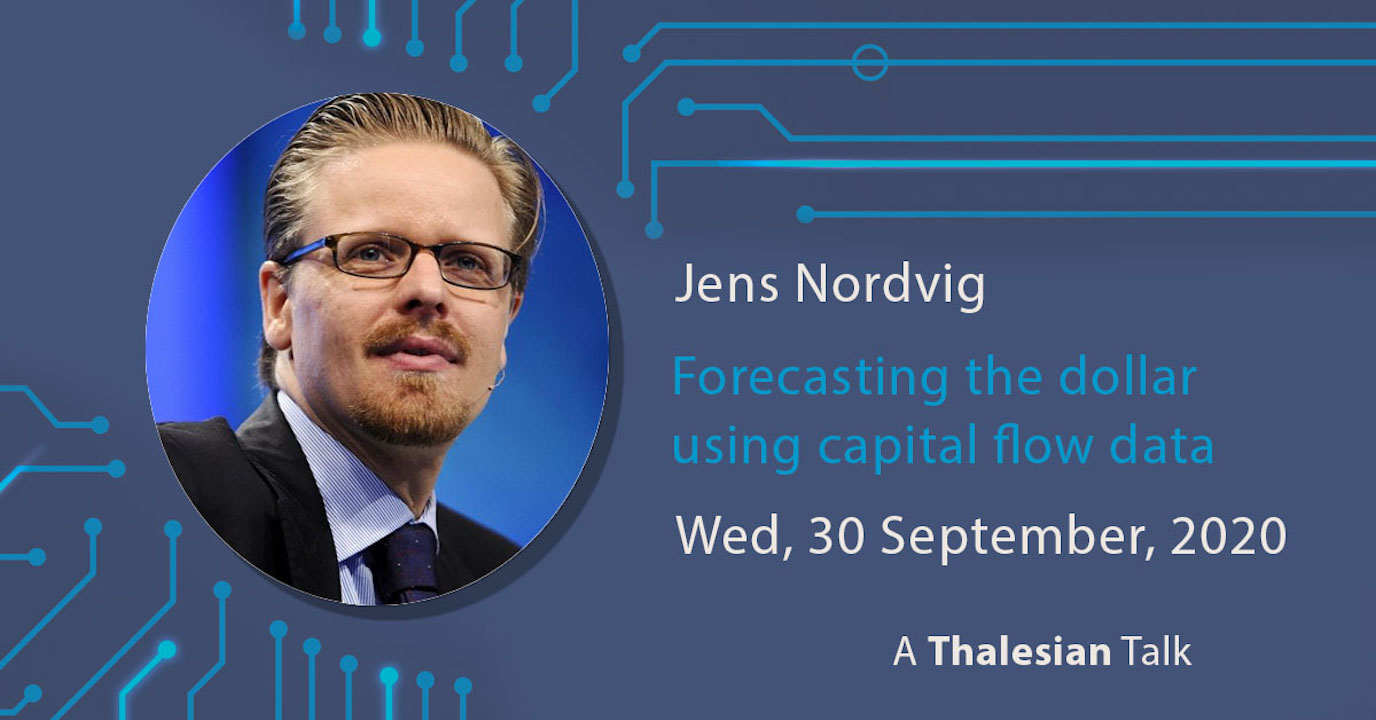 Jens Nordvig: Forecasting the dollar using capital flow data